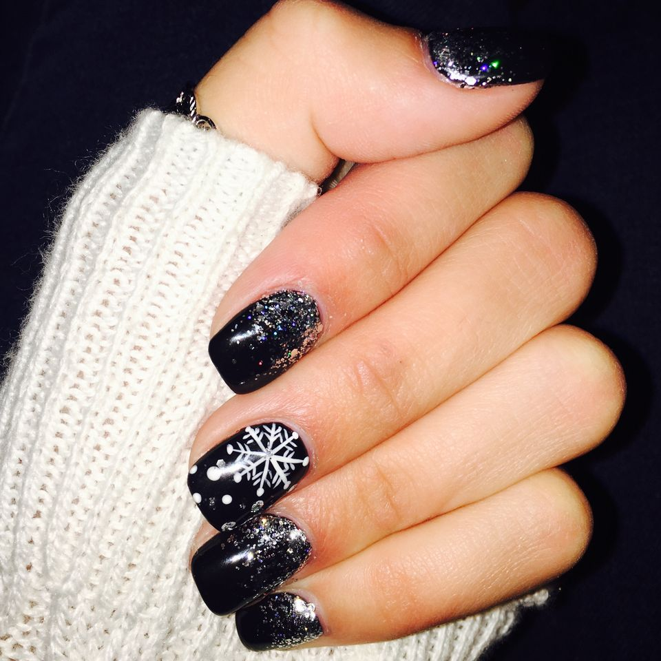 Sweet acrylic nails ideas for winter 103