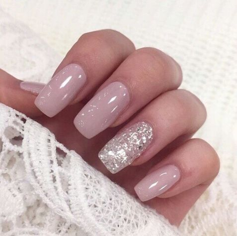 Sweet acrylic nails ideas for winter 125