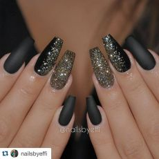 Sweet acrylic nails ideas for winter 20