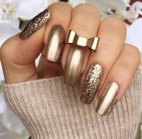Sweet acrylic nails ideas for winter 40