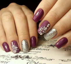 Sweet acrylic nails ideas for winter 48
