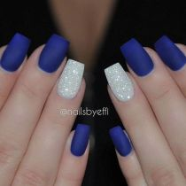 Sweet acrylic nails ideas for winter 89