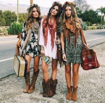 Best boho dress ideas for coachella outfits 96