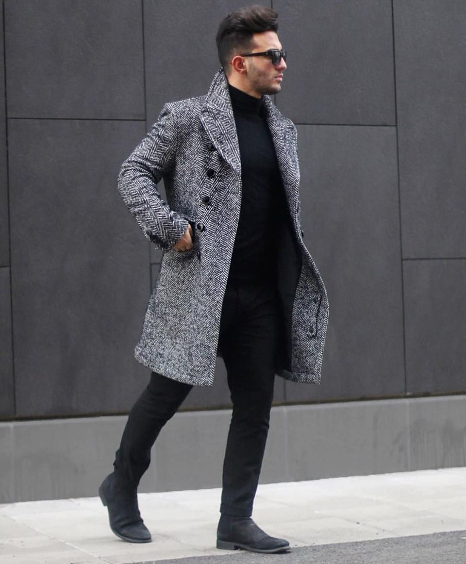 Cool, Classy and Fashionable Men Winter Coat 32