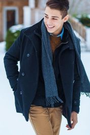 Cool, Classy and Fashionable Men Winter Coat 40