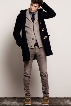 Cool, Classy and Fashionable Men Winter Coat 42