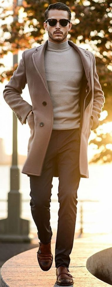 Cool, Classy and Fashionable Men Winter Coat 46