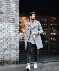Cool, Classy and Fashionable Men Winter Coat 52