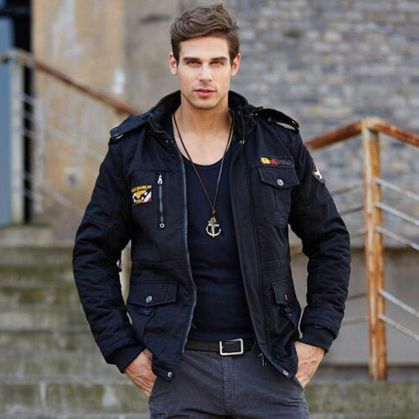 Cool, Classy and Fashionable Men Winter Coat 67