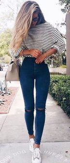 Pretty Casual Spring Fashion Outfits for Teen Girls 41