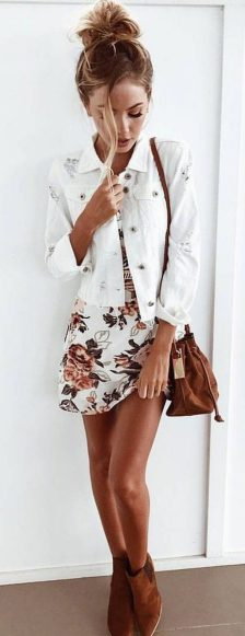 Pretty Casual Spring Fashion Outfits for Teen Girls 56