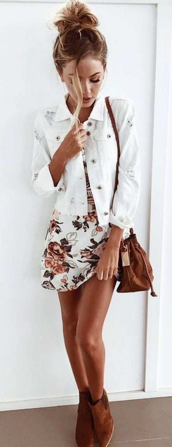 1c02f0708 Pretty Outfits 60 pretty casual spring fashion outfits for teen girls -  fashion best