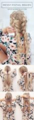 Stunning boho coachella hairstyles ideas 21