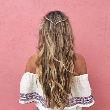 Stunning boho coachella hairstyles ideas 35