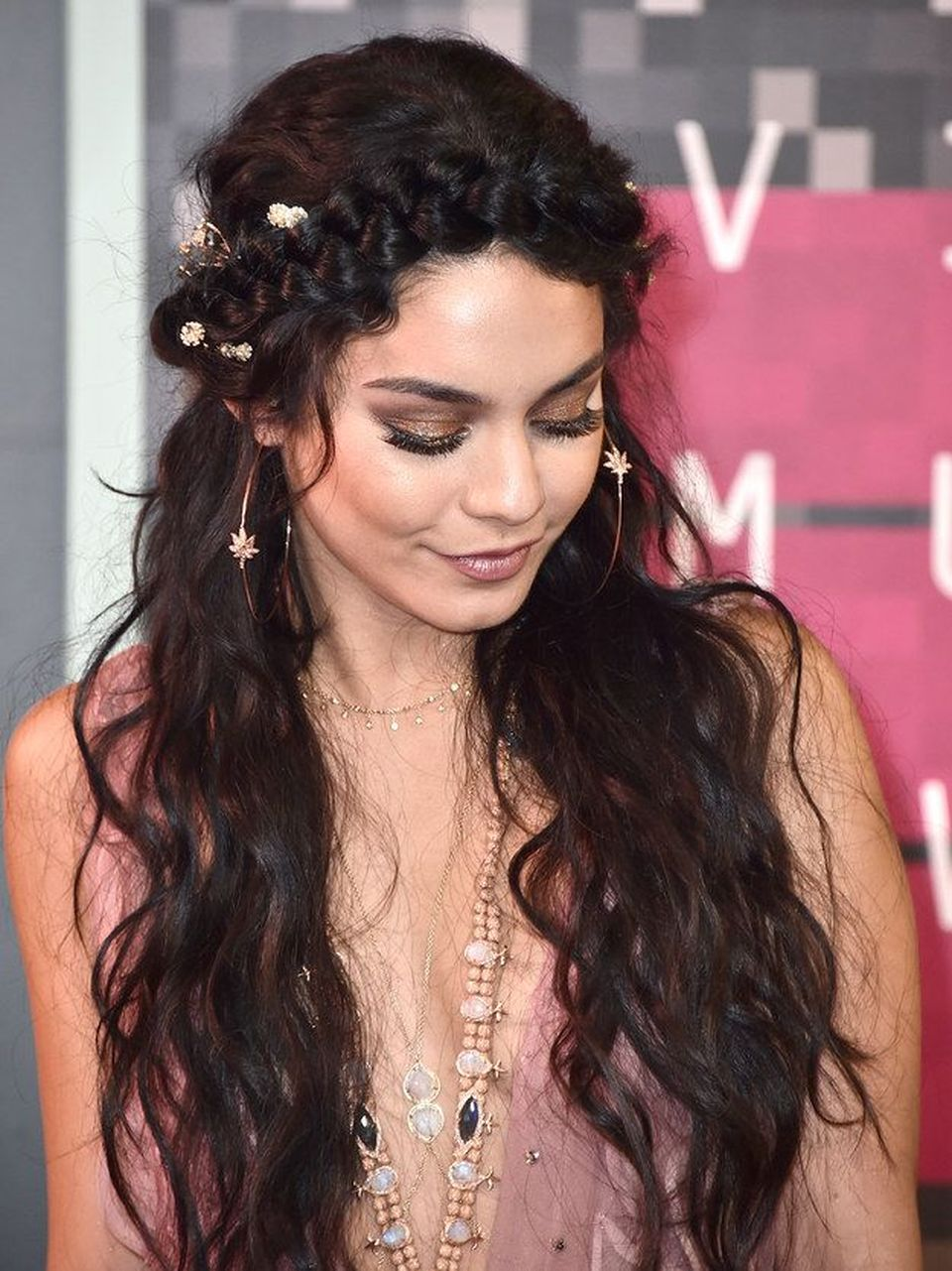 Stunning boho coachella hairstyles ideas 46