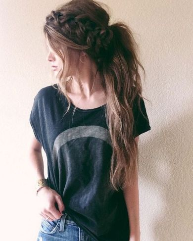 Stunning boho coachella hairstyles ideas 62