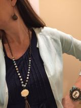 Beautiful Plunder Necklace Ideas for Summers 26