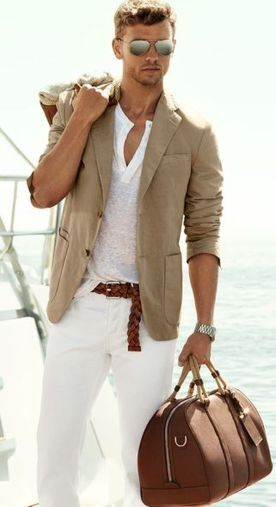 Cool Casual Men's Fashions Summer Outfits Ideas 14