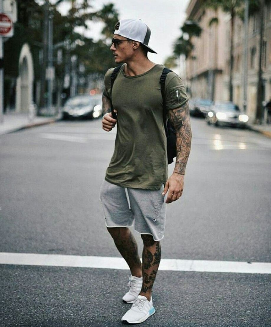 Cool Casual Men's Fashions Summer Outfits Ideas 21