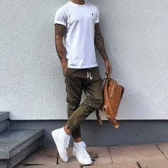 Cool Casual Men's Fashions Summer Outfits Ideas 43