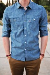 Cool Casual Men's Fashions Summer Outfits Ideas 50