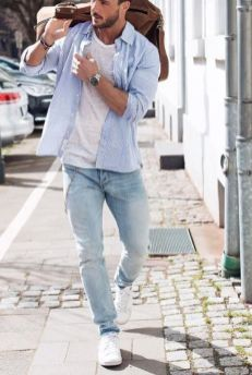 Cool Casual Men's Fashions Summer Outfits Ideas 60