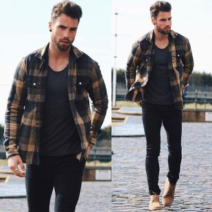 Inspiring Men's Spring Streetstyle Fashion Outfits 13