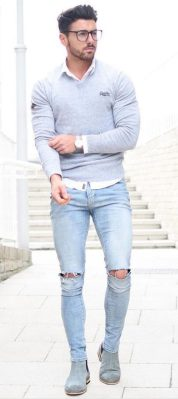 Inspiring Men's Spring Streetstyle Fashion Outfits 26