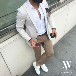 Inspiring Men's Spring Streetstyle Fashion Outfits 36