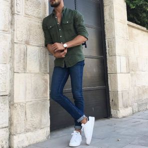 Inspiring Men's Spring Streetstyle Fashion Outfits 7