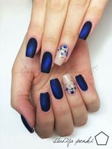 Sweet Blue Nails Ideas that Make Cool and Calm Appearance 11