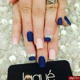 Sweet Blue Nails Ideas that Make Cool and Calm Appearance 15