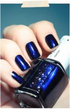 Sweet Blue Nails Ideas that Make Cool and Calm Appearance 50