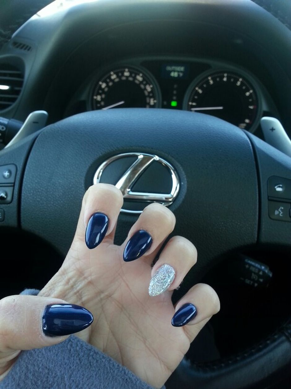 Sweet Blue Nails Ideas that Make Cool and Calm Appearance 56
