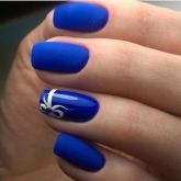 Sweet Blue Nails Ideas that Make Cool and Calm Appearance 67