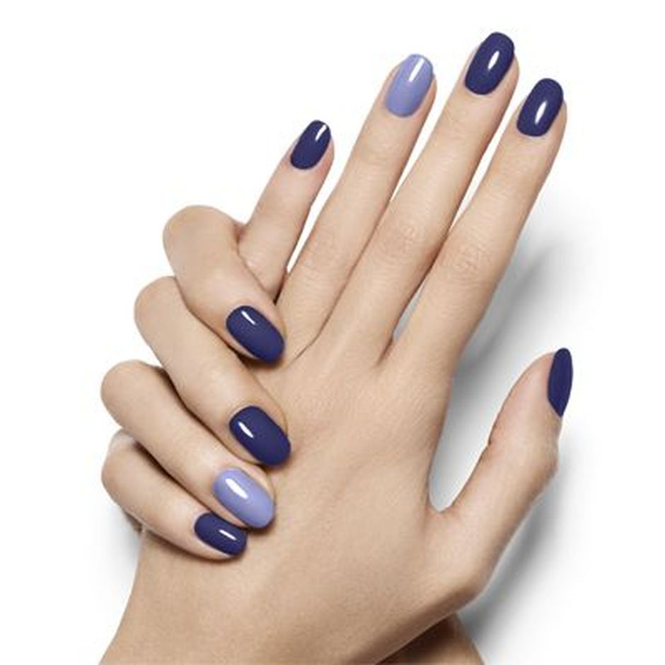 Sweet Blue Nails Ideas that Make Cool and Calm Appearance 83