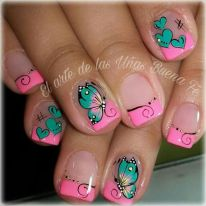 Best Colorful and Stylish Summer Nails Ideas 21