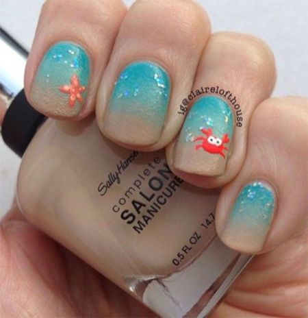 Best Colorful and Stylish Summer Nails Ideas 22