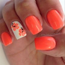 Best Colorful and Stylish Summer Nails Ideas 36