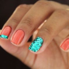 Best Colorful and Stylish Summer Nails Ideas 38