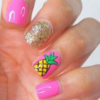 Best Colorful and Stylish Summer Nails Ideas 53