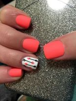 Best Colorful and Stylish Summer Nails Ideas 55
