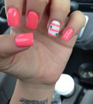 Best Colorful and Stylish Summer Nails Ideas 64