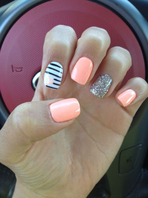 Best Colorful and Stylish Summer Nails Ideas 78