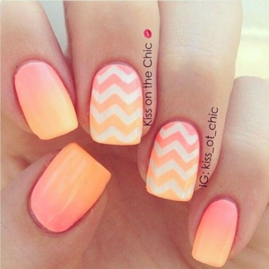 Best Colorful and Stylish Summer Nails Ideas 81