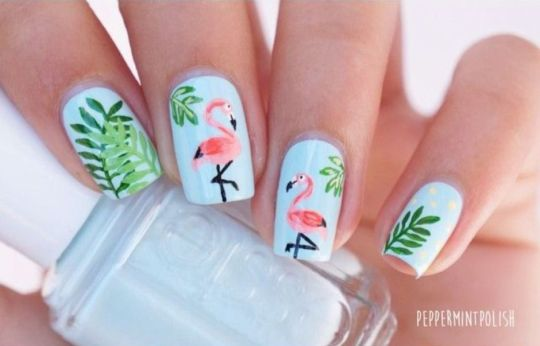Best Colorful and Stylish Summer Nails Ideas 82