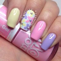 Cute and Easy Easter Nail Art Design Ideas 13