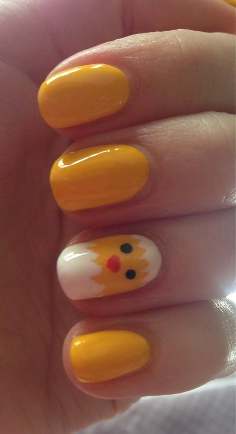 Cute and Easy Easter Nail Art Design Ideas 14