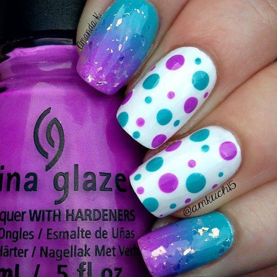 Cute and Easy Easter Nail Art Design Ideas 17