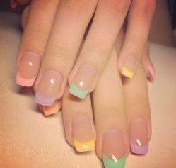 Cute and Easy Easter Nail Art Design Ideas 36